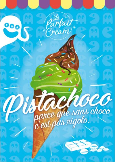 illustrateur freelance-affiche illustration glace