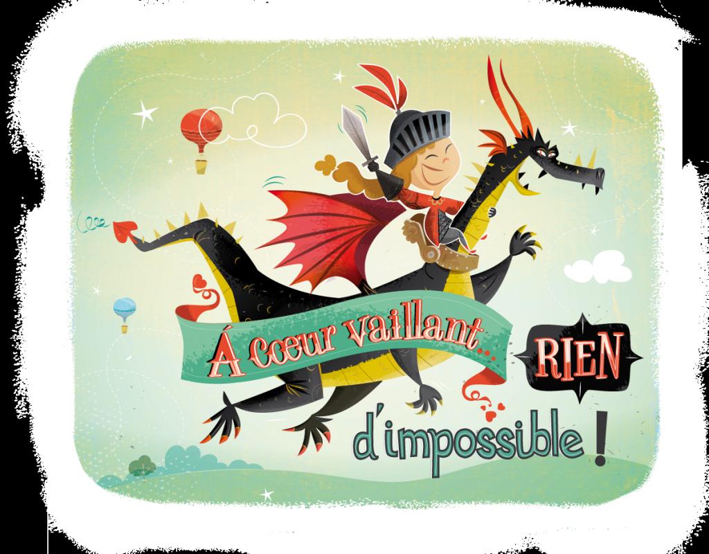 illustrateur freelance / illustration dragon