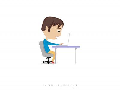 illustration-animation- 2d-bureau-homme-Marcel-Pixel