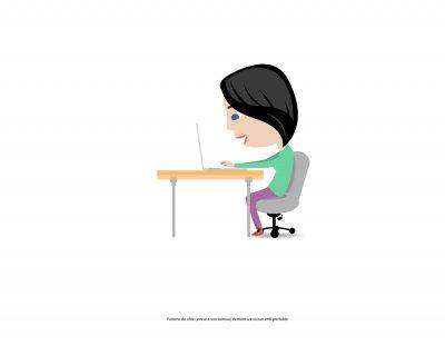 illustration-animation- 2d-perso-bureau-femme-Marcel-Pixel
