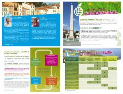 graphiste brochure agenda-port-vendres