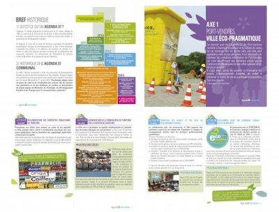 graphiste brochure agenda 21