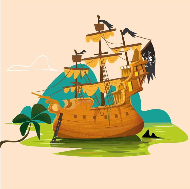 """<p>Illustration d'un bateau pirate pour les éditions jeunesse par Marcel Pixel illustrateur freelance.</p> <div>  <img src=""""/images/illustrateur-bateau-pirate.jpg""""  alt=""""illustrateur bateau de pirate freelance pour les éditions jeunesse""""  title=""""Dessins et illustration sur le théme des pirates et carte au trésor pour les éditions jeunesse.""""> <p>illustrateur-bateau-pirate</p> </div>"""