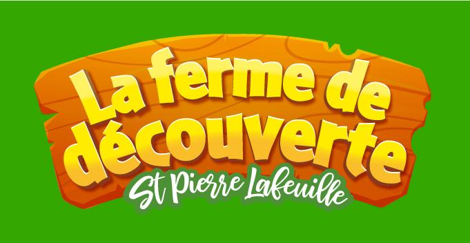 logo et illustration pour parc et ferme pédagogique